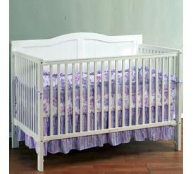 heritage collection 3 in 1 convertible crib white