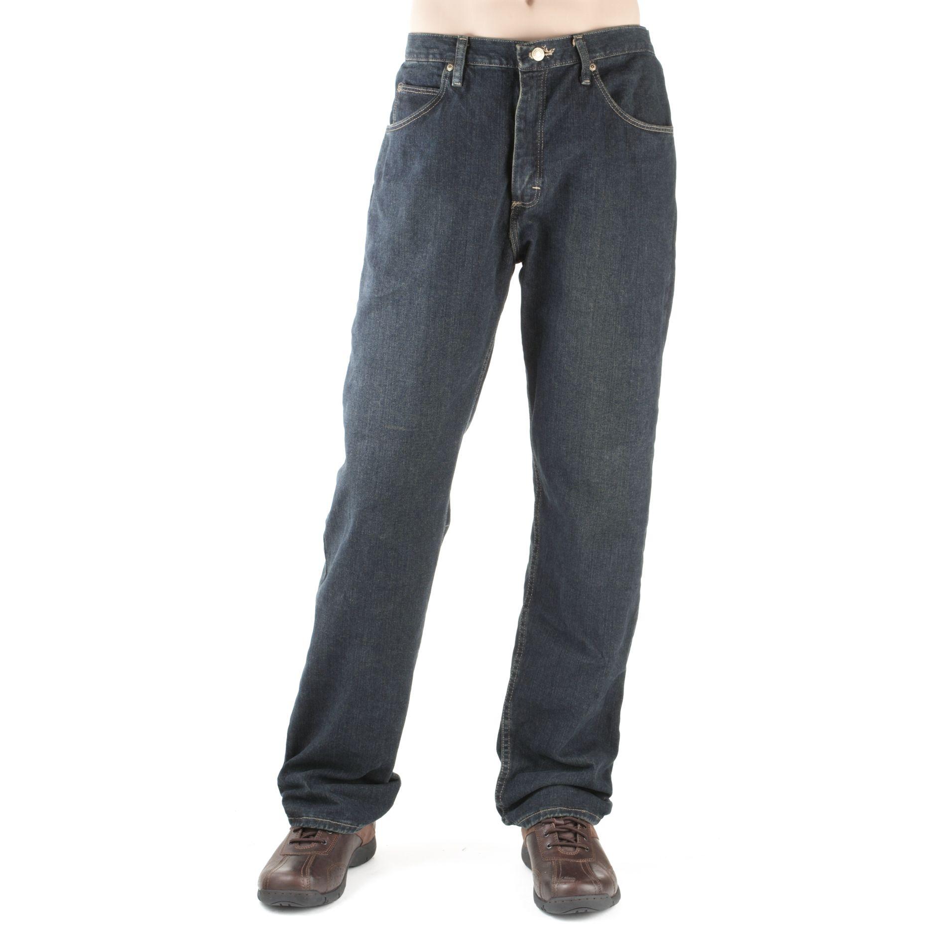 Wrangler Men's Relaxed Jeans, Size: 34, Midstone