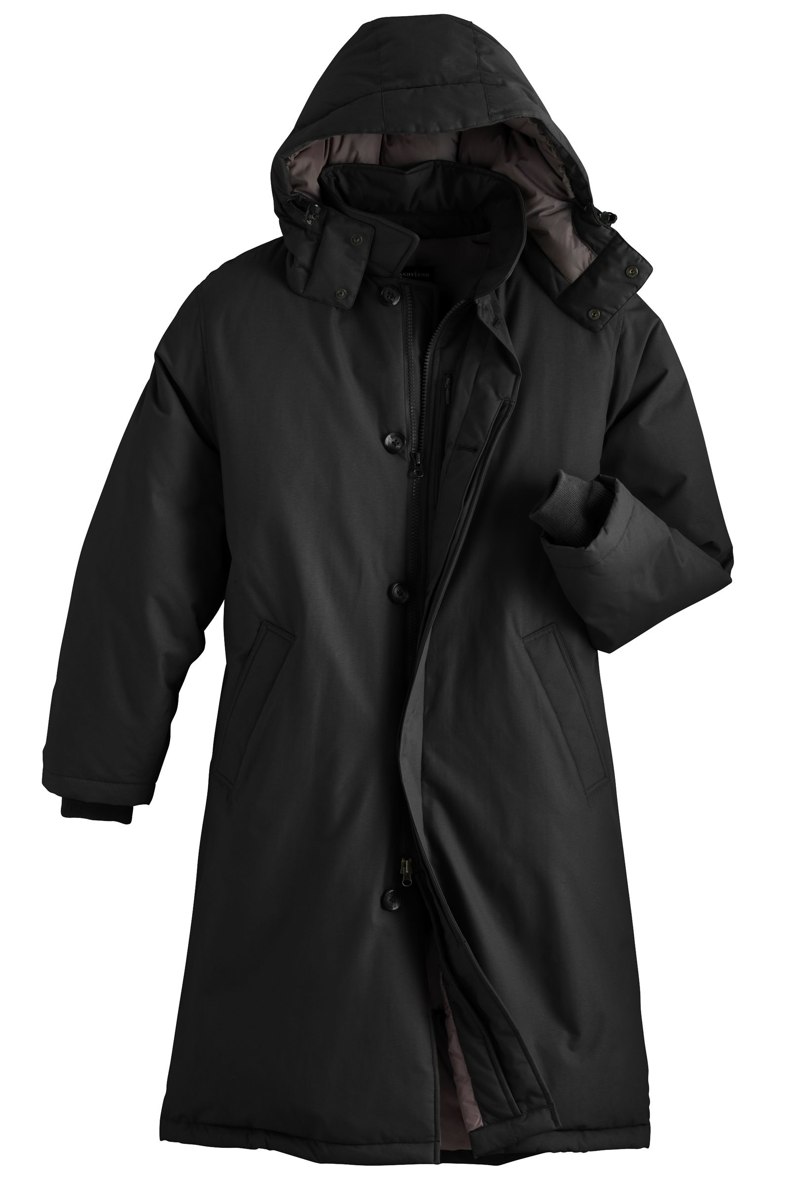 I have a Lands End puffer from several seasons ago. It's more of a parka and pretty haerdcore and have to say it's been a great purchase. LE can be mixed on quality but their more functional outerwear has always been pretty good.