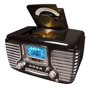 Crosley Corsair Clock Radio with CD Player & AM/FM Radio, Black at Sears.com
