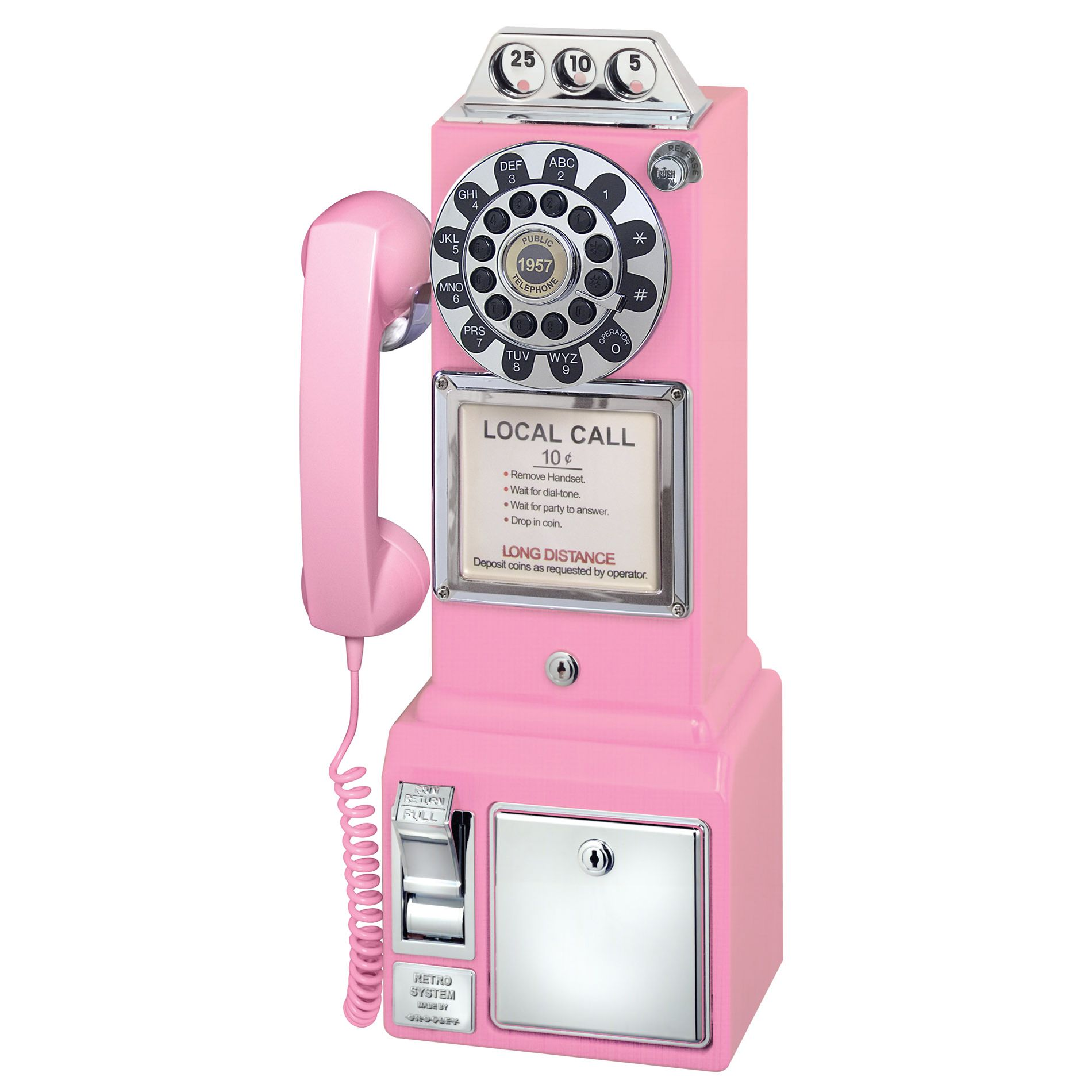 Crosley 1950's Pay Phone