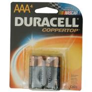 Duracell CopperTop AAA Alkaline Batteries, 4pk at Kmart.com