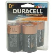 Duracell CopperTop D Alkaline Batteries, 4pk. at Kmart.com