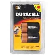 Duracell CopperTop D Alkaline Batteries, 8 pk. at Kmart.com