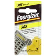 Energizer Watch/Electronic Battery, 1.55 Volt, 303, 1 battery at Kmart.com