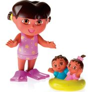 Dora the Explorer Bath Time Dora and Twins at Kmart.com