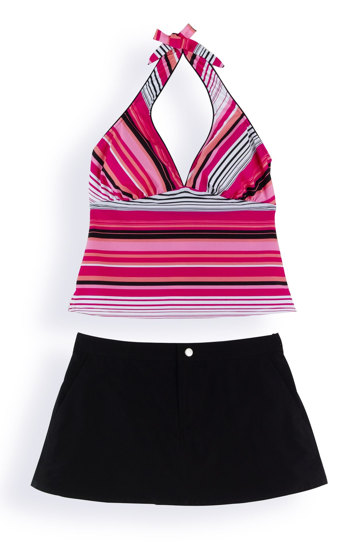 Tropical Escape Multistripe Skirtini at Sears.com