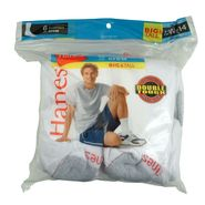 Hanes Men's Sport Crew Sock -  White 6 Pair pk - Size 13-15 at Kmart.com