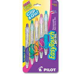 Mini Easy Touch Pens Black - 5pk                                                                                                 at mygofer.com
