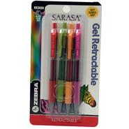 Zebra Sarasa Gel 4 pk Assorted Colors Cobalt/Fuchsia/Mustard/Lime at Kmart.com