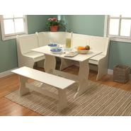 3 pc. Nook Dining Set - Antique White at Sears.com