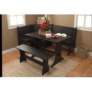 3 pc. Nook Dining Set - Black at Kmart.com