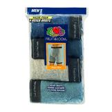 Fruit of the Loom Men's Ringer Style Boxer Brief - Assorted Colors 4 pack at mygofer.com