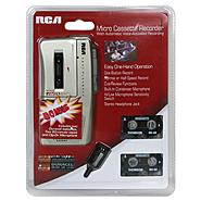 RCA Micro Cassette Recorder with Bonus, 1 recorder at Kmart.com