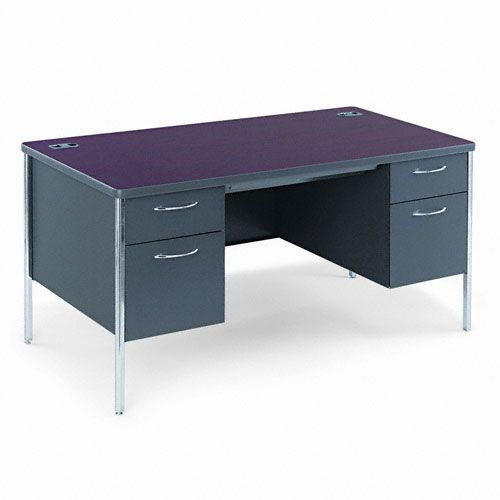 HON Mentor Series Double Pedestal Desk