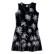 Tropical Escape Palm Tree Print Dress at Sears.com