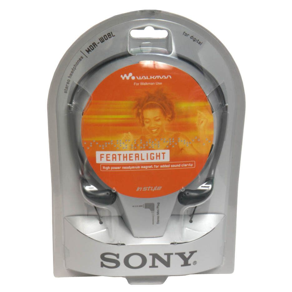 Sony  Stereo Headphones for Walkman Use,