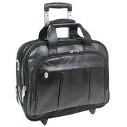 McKlein® DAMEN - Leather Detachable-Wheeled Laptop Case at Kmart.com