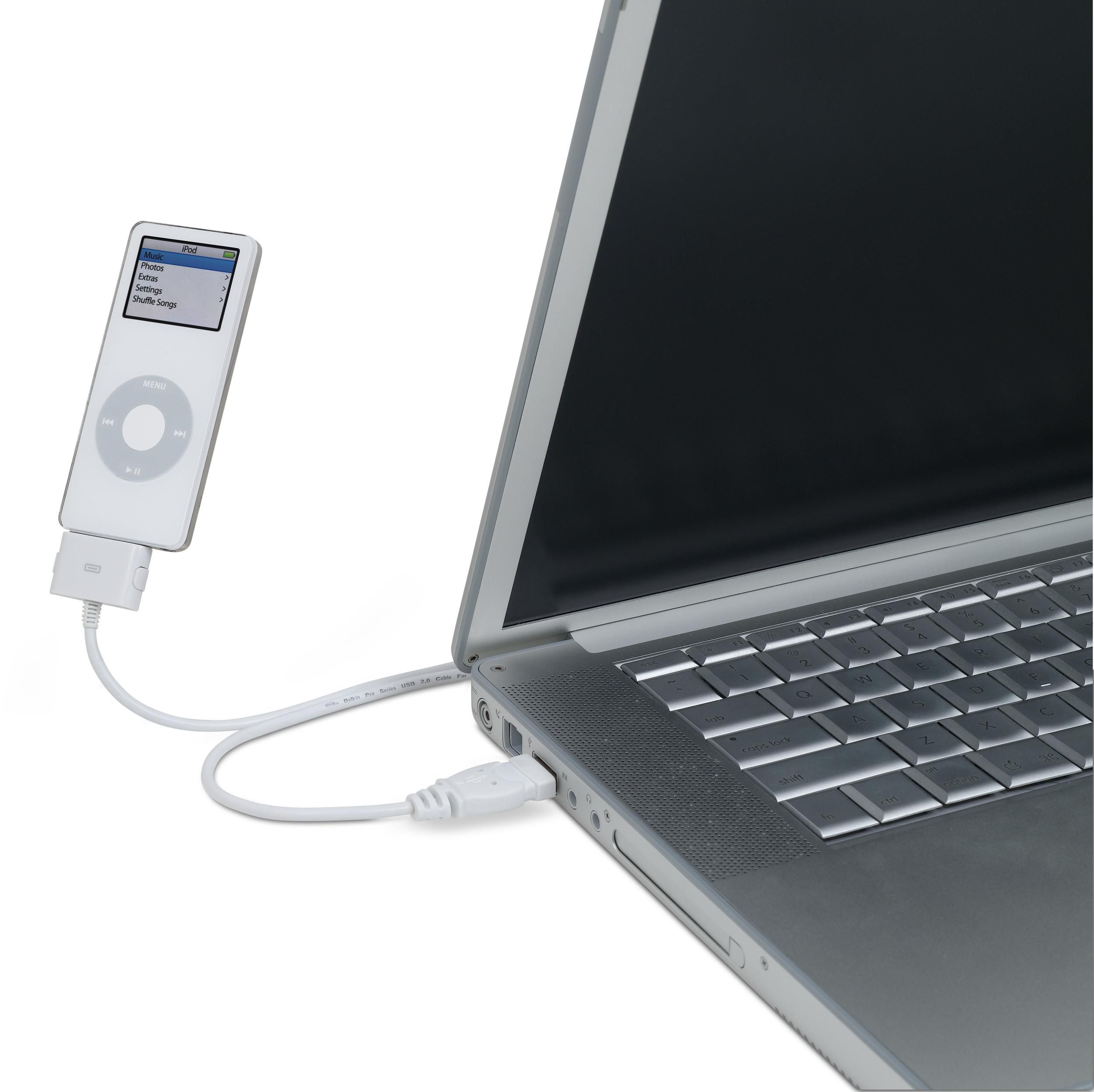 USB 2.0-to-30-Pin Cable for iPod