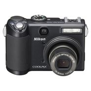 Nikon Coolpix P5100 12.1MP, 3.5X Optical Zoom Digital Camera - Black at Kmart.com