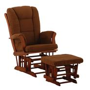 Stork Craft Tuscany Glider & Ottoman - Cognac/Chocolate at Kmart.com