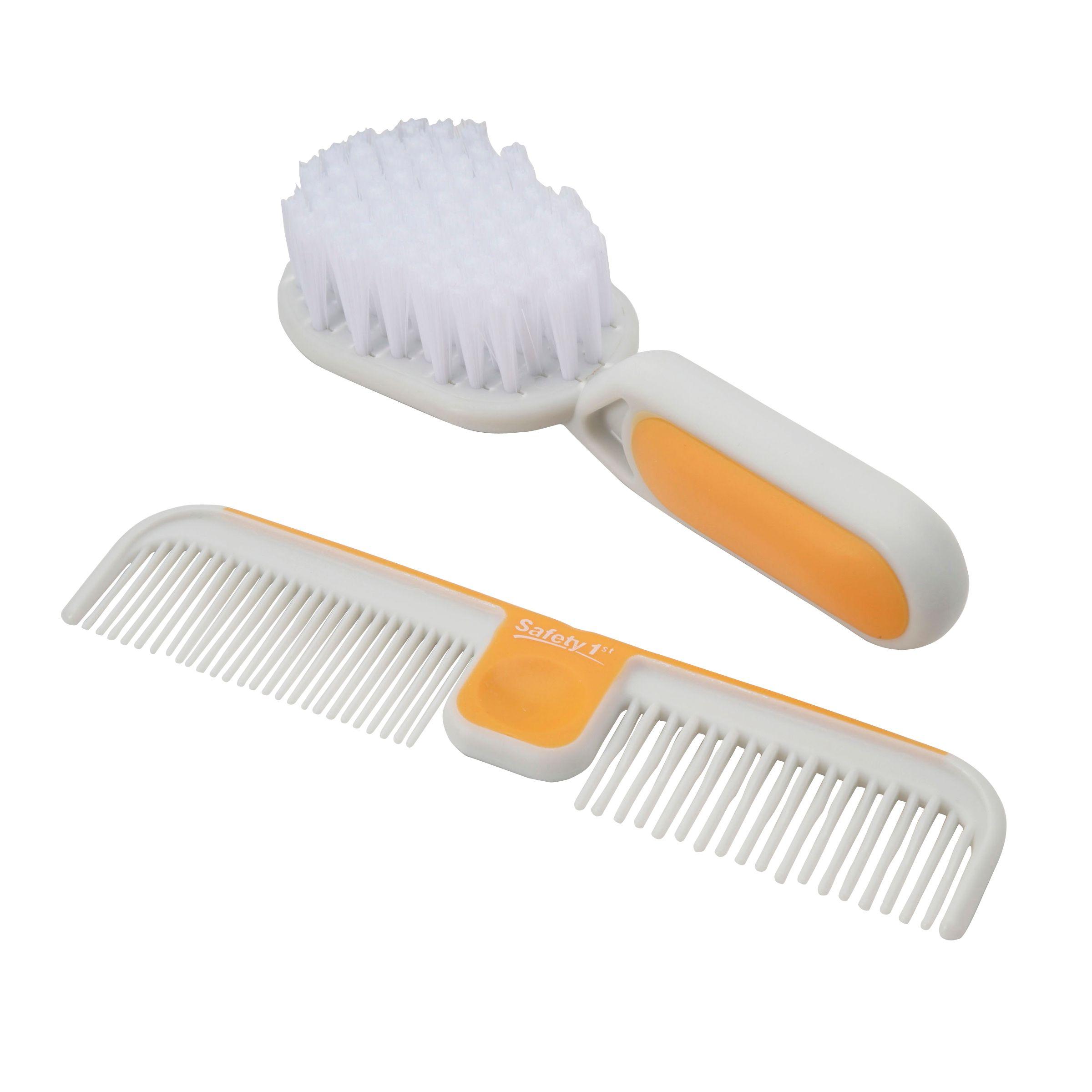 Safety 1st Gentle Care Hair Brush & Comb Set PartNumber: 024W221218110001P KsnValue: 024W221218110001 MfgPartNumber: 49524