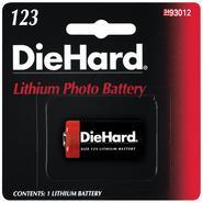 DieHard 123 Lithium Photo Battery at Kmart.com