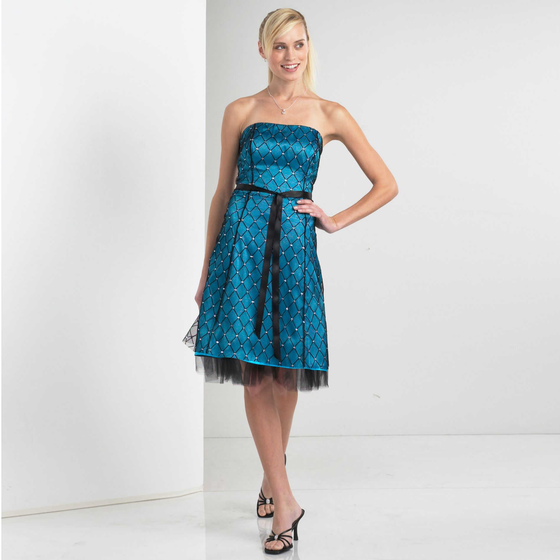 Flock Diamond Overlay Party Dress at Kmart.com