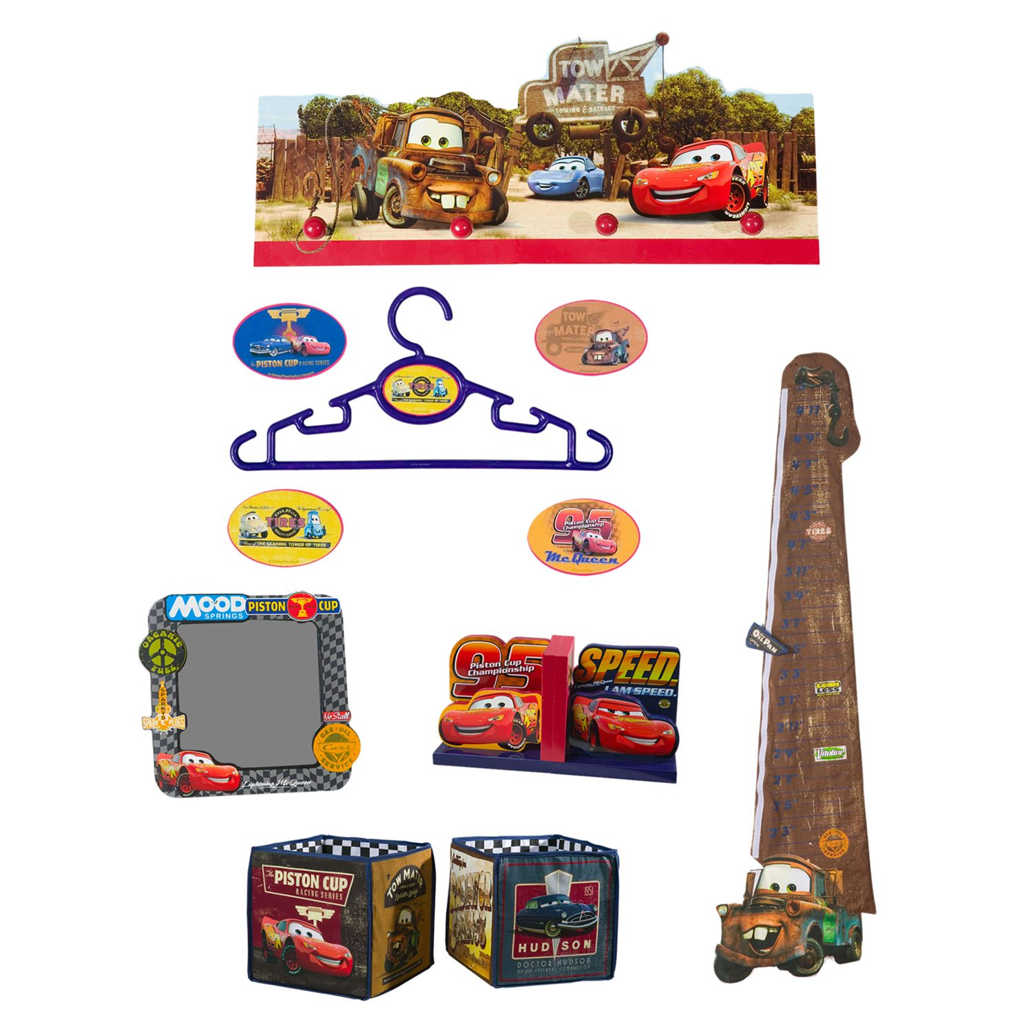 returned the disney pixar cars room decorations extra attention