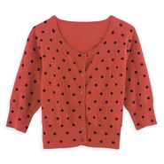Personal Identity Dot Cardigan at Sears.com