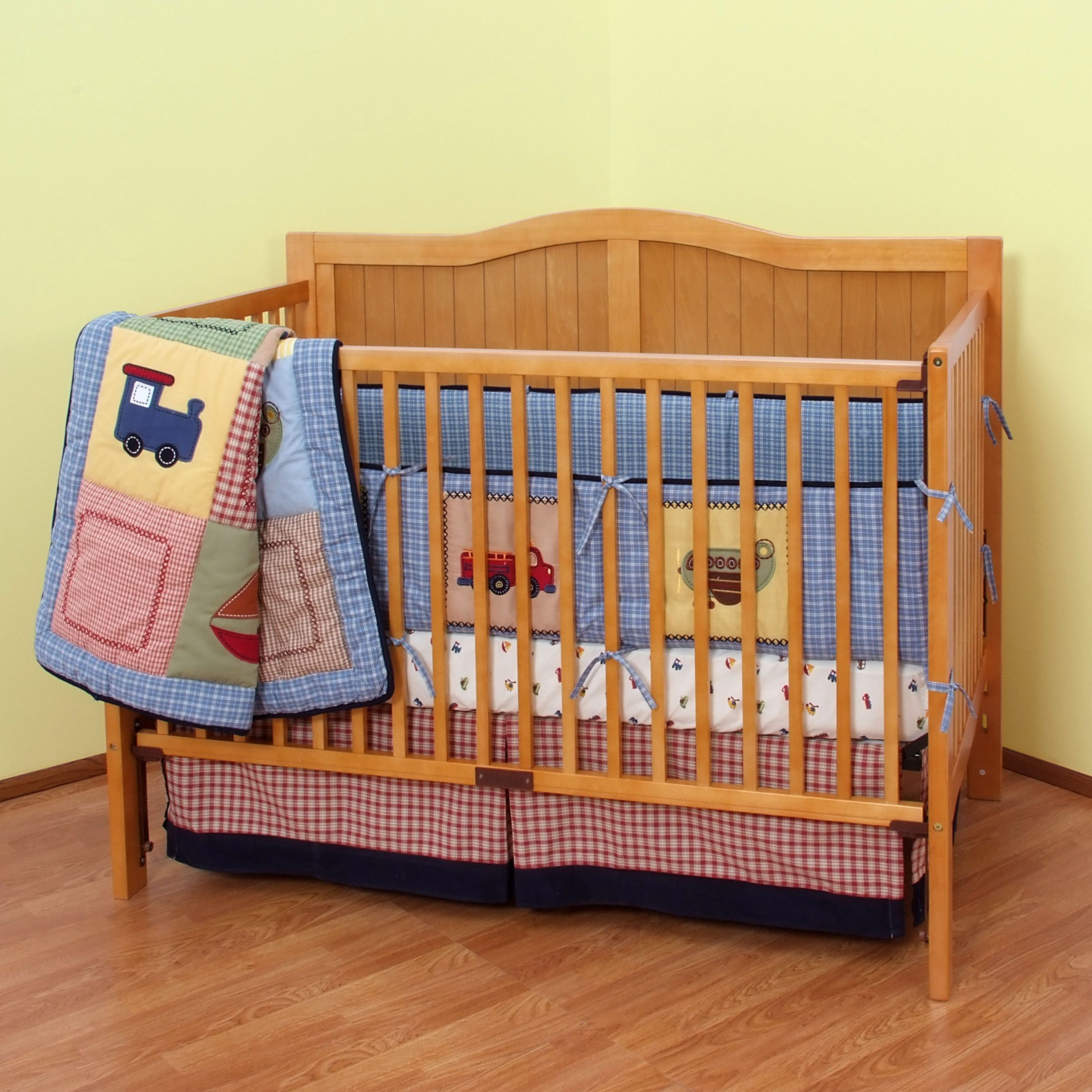 Transportation Nursery Bedding Collection