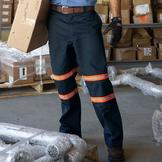 Dickies Men's Enhanced Visibility Double Knee Pants at mygofer.com
