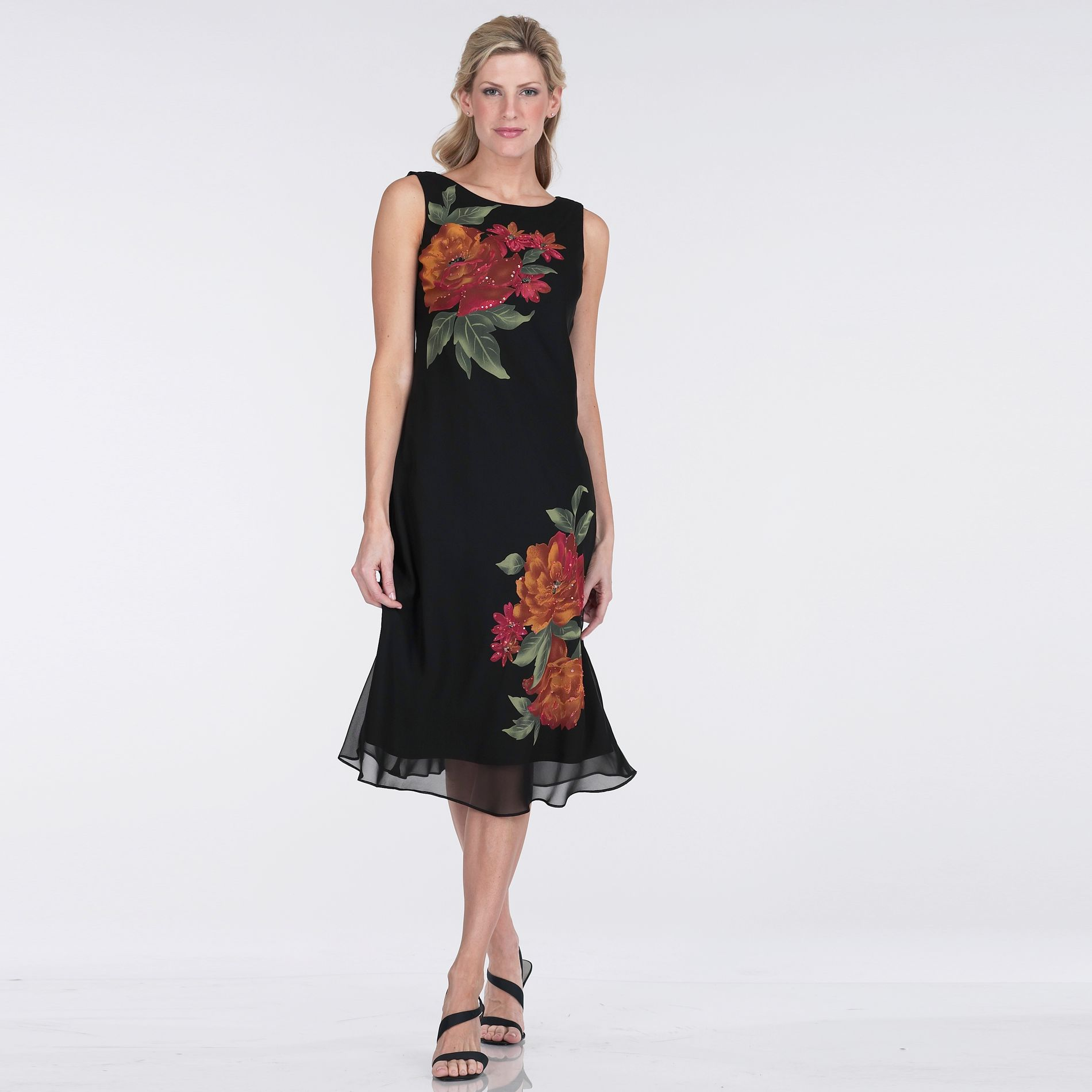 JBS Flutter Sleeve with Flower Dress at Kmart.com