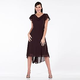 Sally Lou Fashions 1 Piece Drape Front Pin Back Dress at Kmart.com