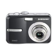 Samsung S860 8.1 MP Black Digital Camera at Kmart.com