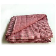 Tadpoles Classics Red Gingham Crib Coverlet at Kmart.com