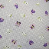 Lambs & Ivy Luv Bugs Fitted Crib Sheet at mygofer.com
