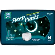 Little Ones Sleep Pants For Boys & Girls, Size L (65-85 lb), Jumbo, 14 pants at Kmart.com