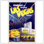 "Trademark Fine Art 24x32 inches ""Las Vegas""-Framed at Kmart.com"
