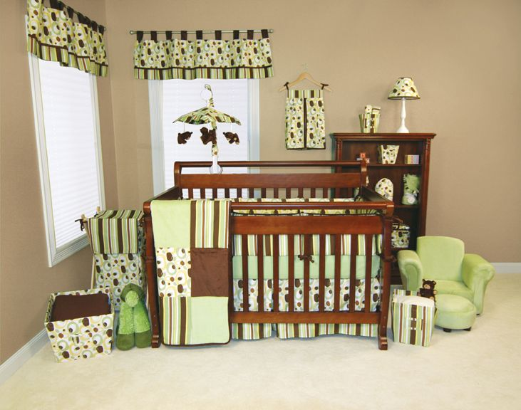 Trend Lab Giggles 4pc Crib Set