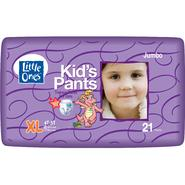 Little Ones Kid's Pants Training Pants For Girls, XL, Size 4T-5T (38 lb & over ), Dragon Tales, Jumbo, 21 pants at Kmart.com
