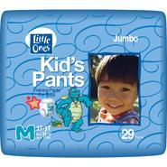Little Ones Kid's Pants Training Pants For Boys, M, Size 2T-3T (upto 34 lb), Dragon Tales, Jumbo, 29 pants at Kmart.com