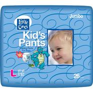Little Ones Kid's Pants Training Pants For Boys, L, Size 3T-4T (32-40 lb), Dragon Tales, Jumbo, 26 pants at Kmart.com