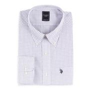 US Polo Assn. Men's Long Sleeve Check Dress Shirt at Sears.com