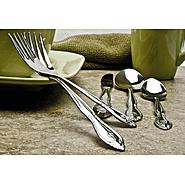 Sourcing Solutions 46PC ROSE PERSONALIZED FLATWARE - D at Sears.com