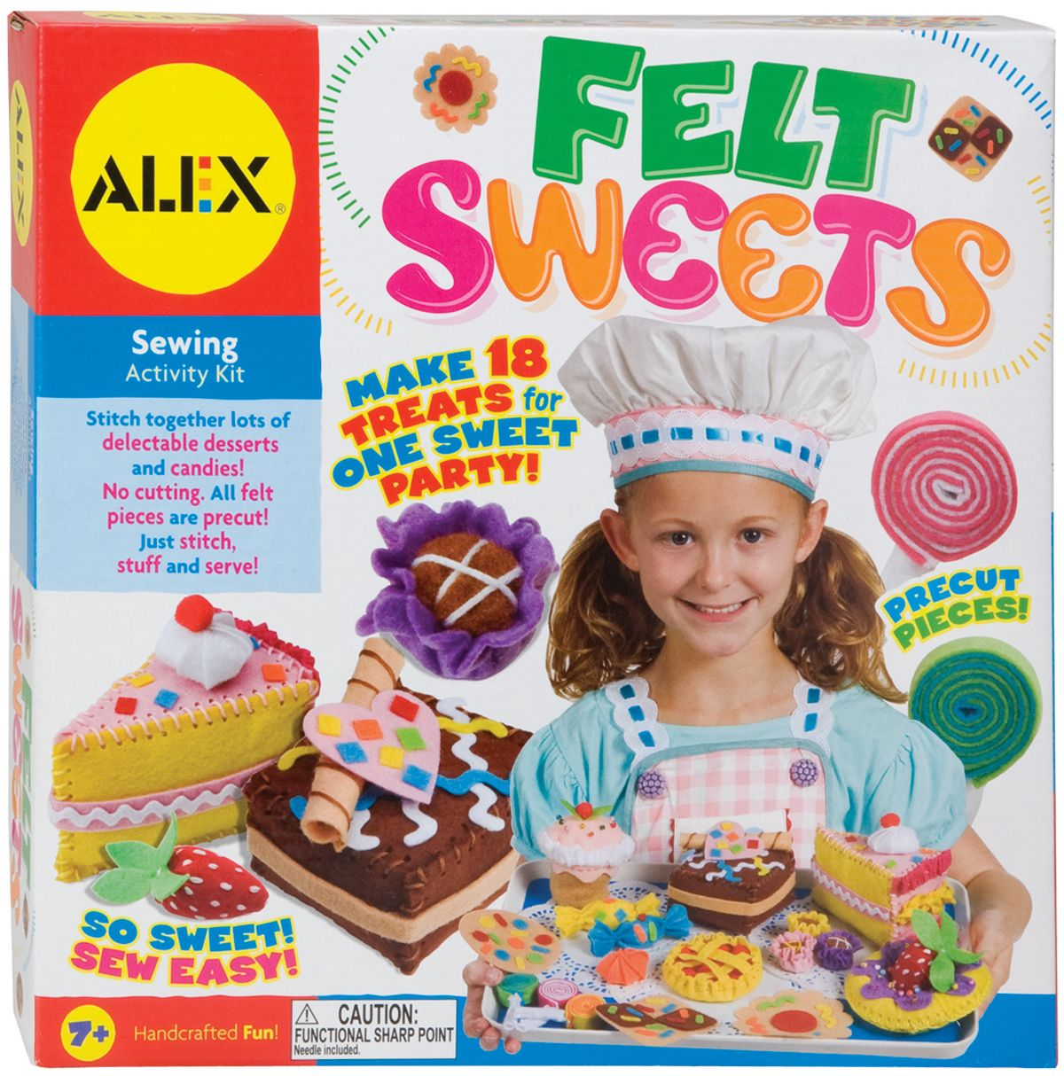Alex Toys Felt Sweets Kit-
