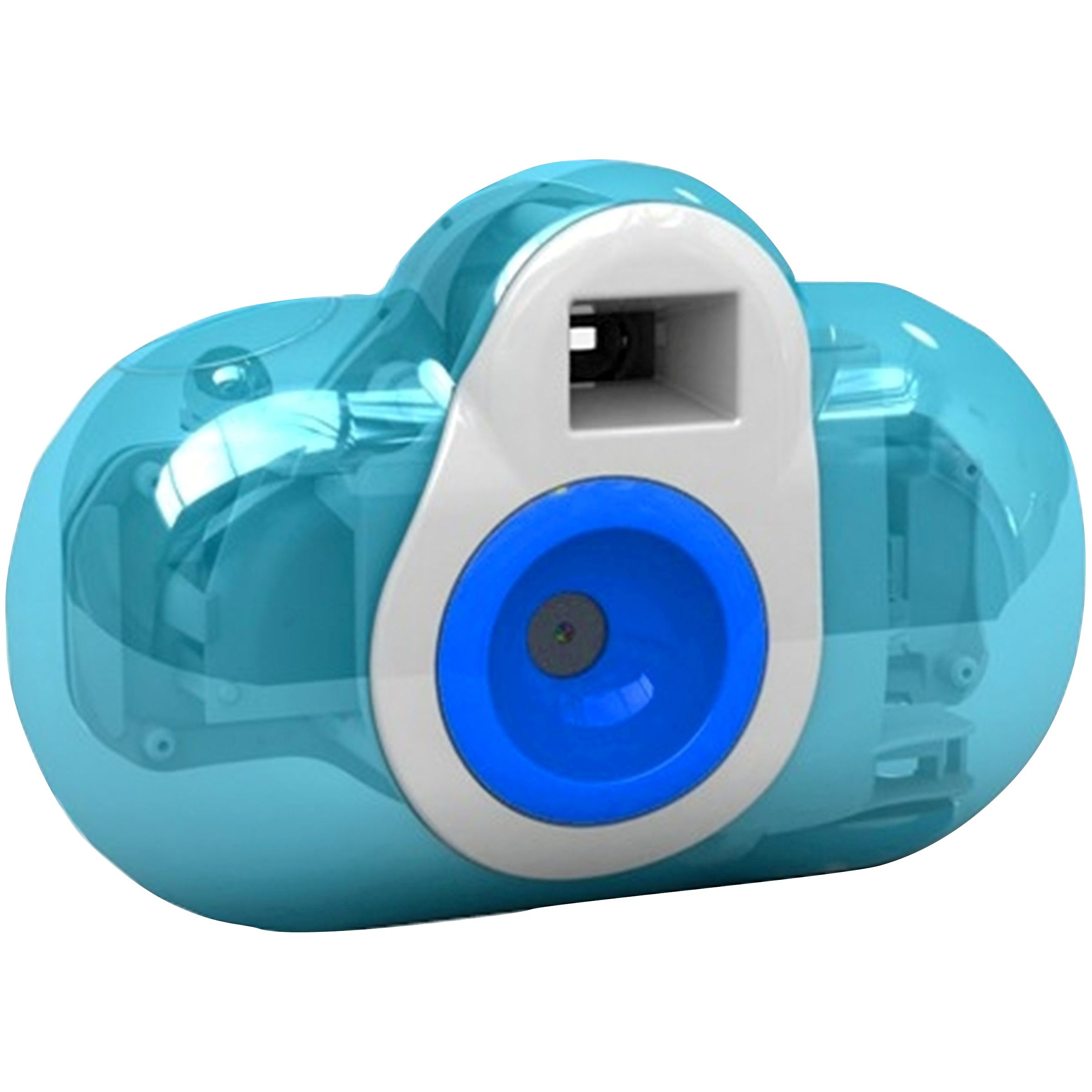 Cobra Digital 3-In-1 Squeeze DC150-B Digital Camera for Kids - Blue