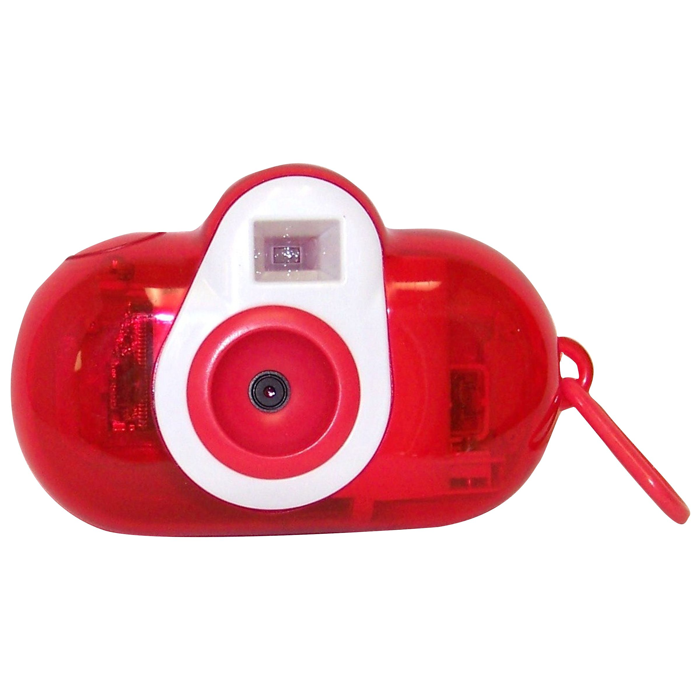 Cobra Digital 3-In-1 Squeeze DC150-B Digital Camera for Kids - Red