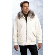 Excelled Men's Faux Shearling Alpine Bomber Jacket at Kmart.com