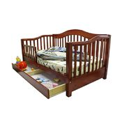 Dream On Me Toddler Day Bed with Storage Drawer, Cherry at Sears.com